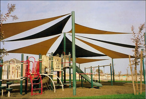 Custom Designed Shade Canopy