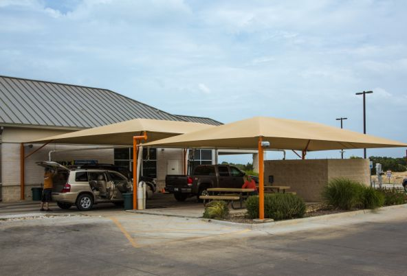 Custom Canopies for Car Washes and Detailers. 1 ... & Custom Canopies for Car Washes and Detailers - Austin Custom Shade ...