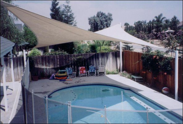 Custom Designed Options For Pool Shade Canopies Austin