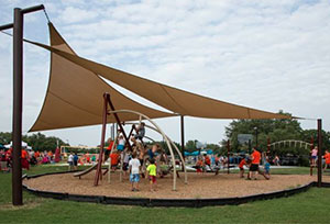Our Custom Designed Tensioned Fabric Canopies & Solutions for Control of the Outdoor Environment - Austin Custom ...